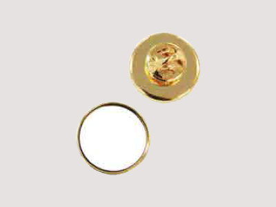 DAP-M20A-GL 円形20ミリピンズ(ゴールド)